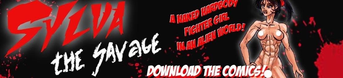 sylva the savage hard body fighter in an alien world